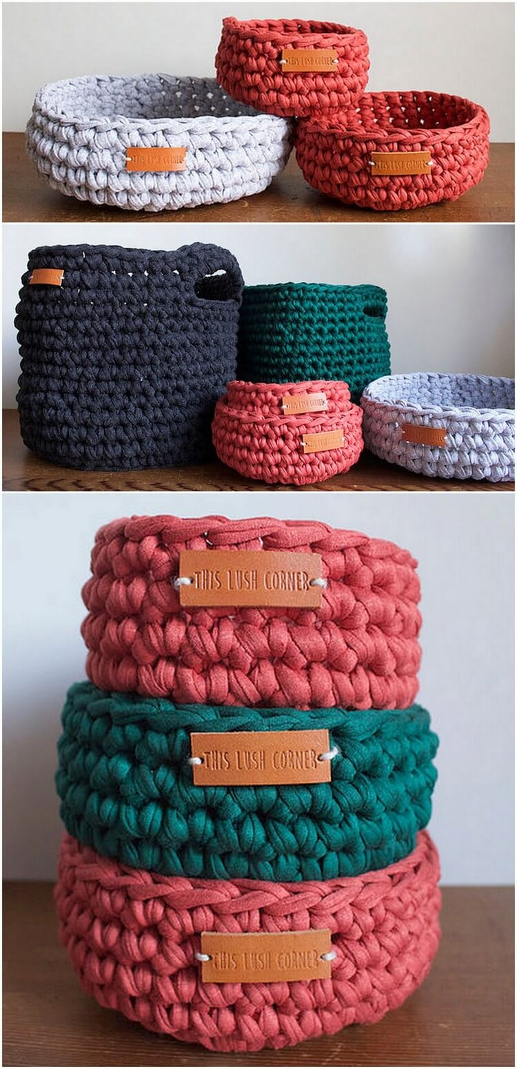 Crochet Basket Pattern (8)