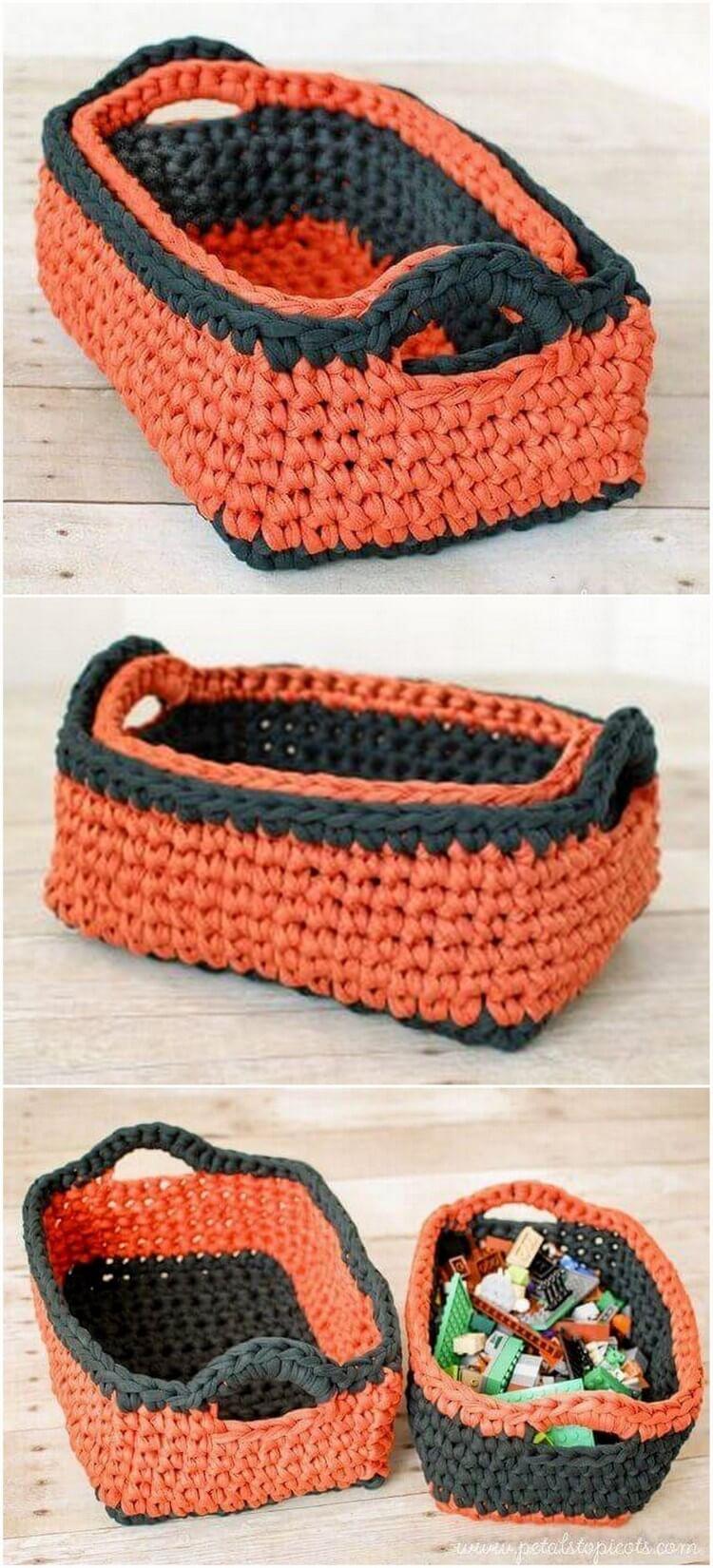 Crochet Basket Pattern (80)