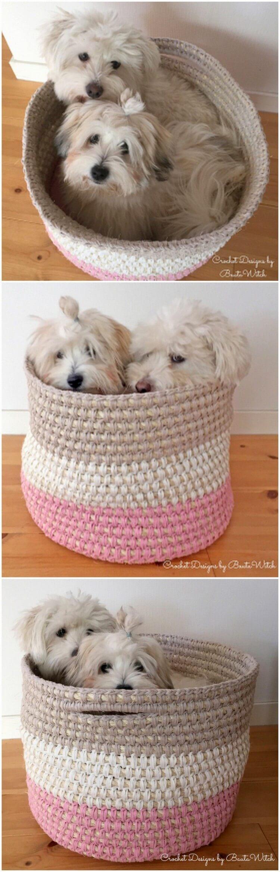 Crochet Basket Pattern (83)