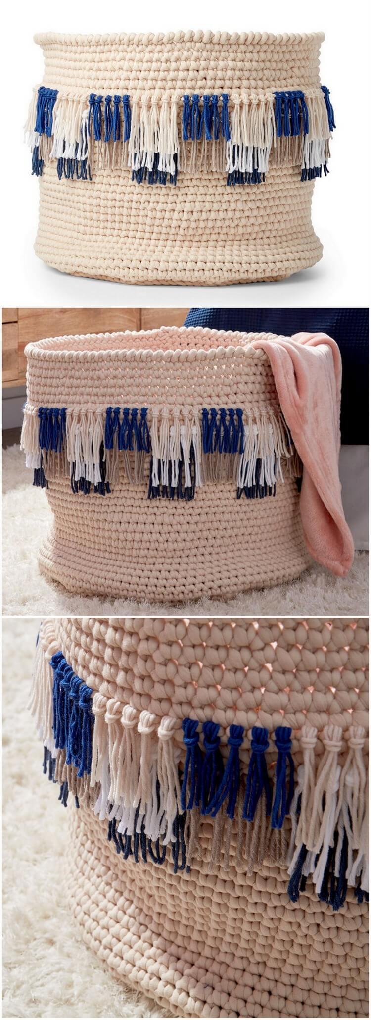 Crochet Basket Pattern (85)