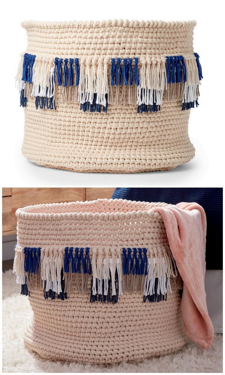 Crochet Basket Pattern (86)