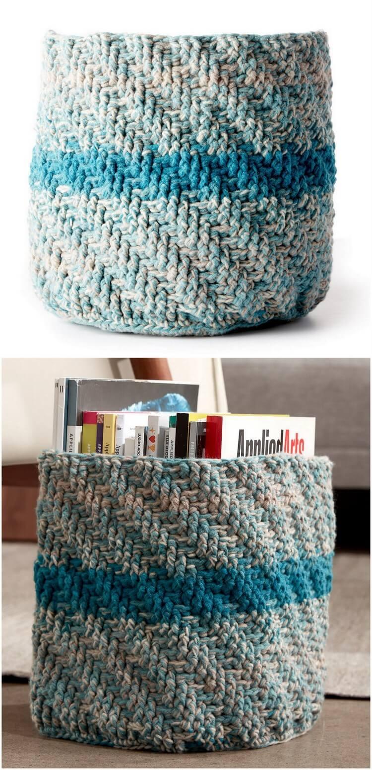 Crochet Basket Pattern (93)