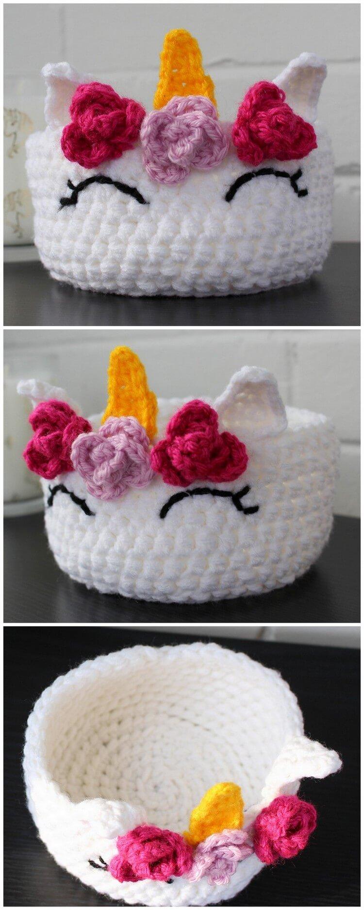 Crochet Basket Pattern (94)