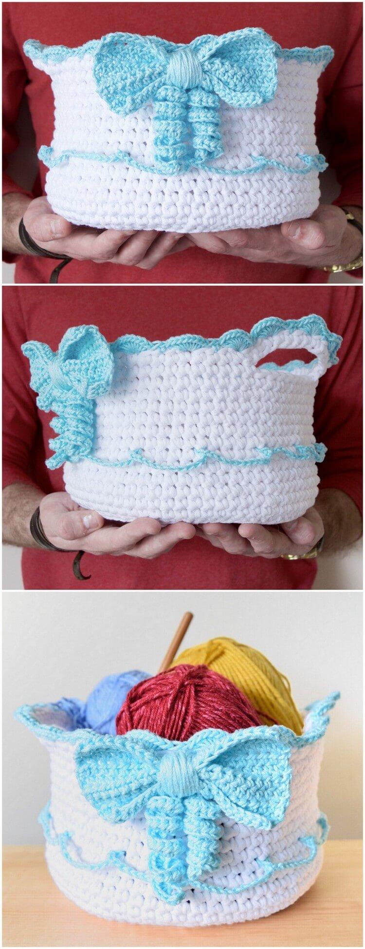Crochet Basket Pattern (97)