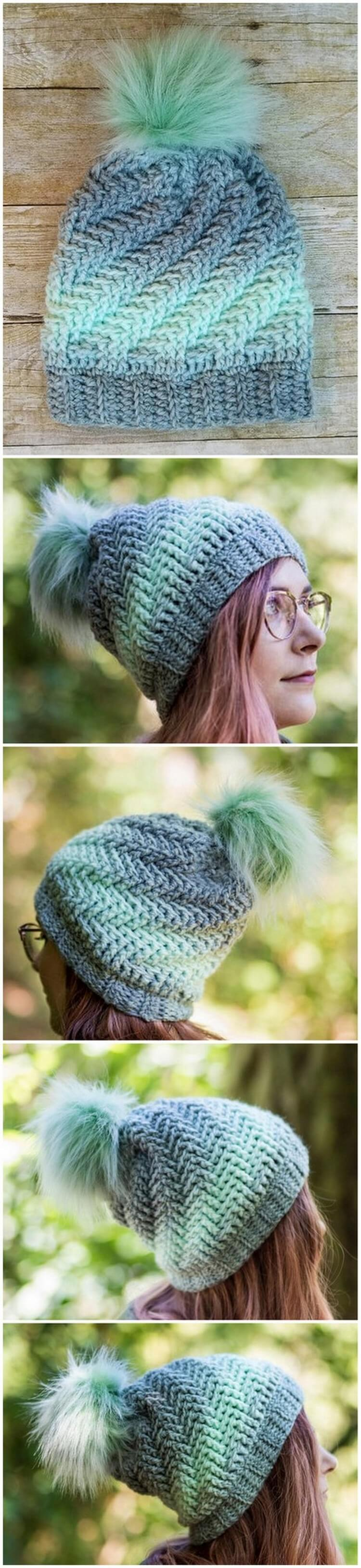 Crochet Hat Pattern (10)