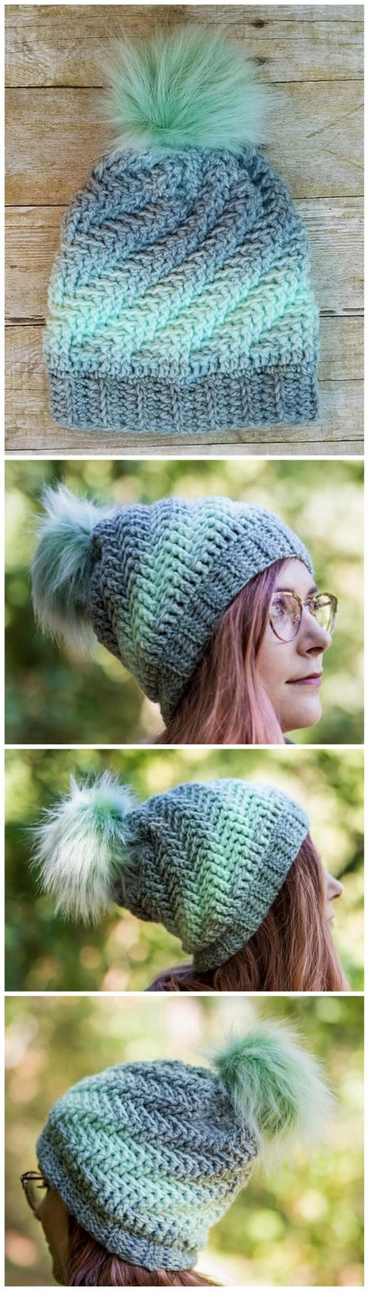 Crochet Hat Pattern (11)