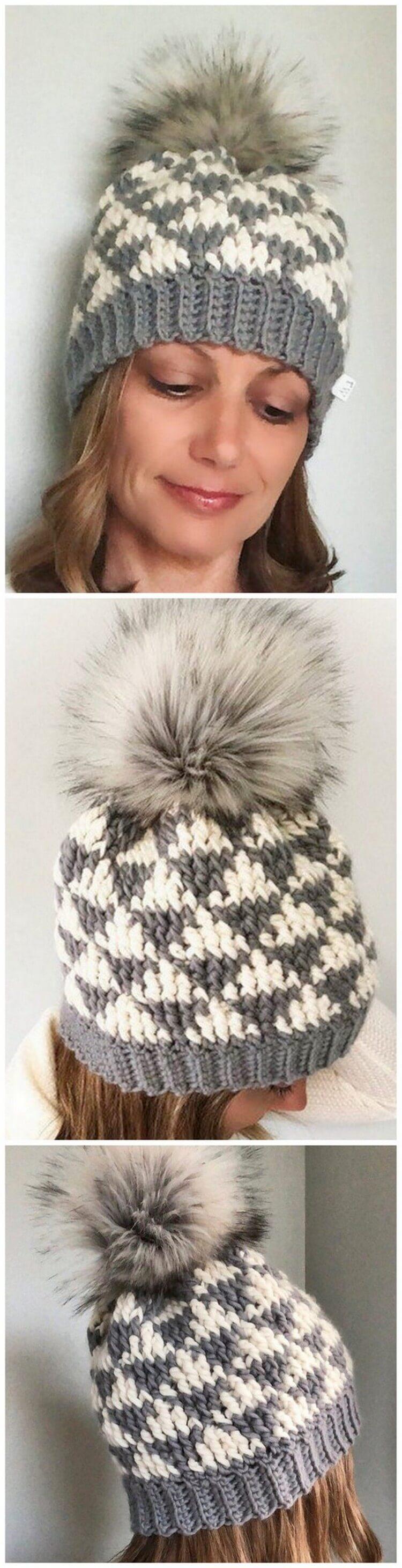 Crochet Hat Pattern (17)