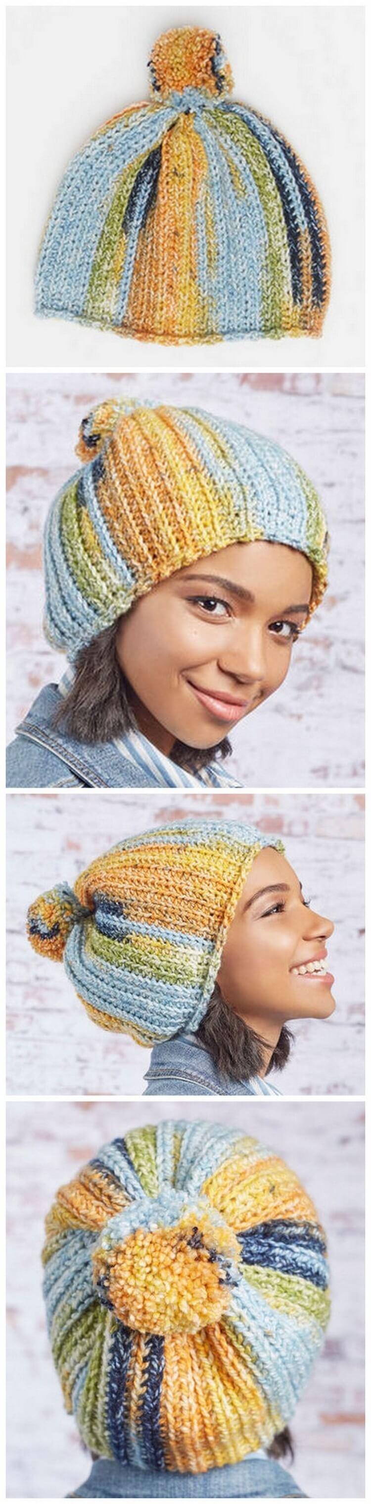 Crochet Hat Pattern (20)