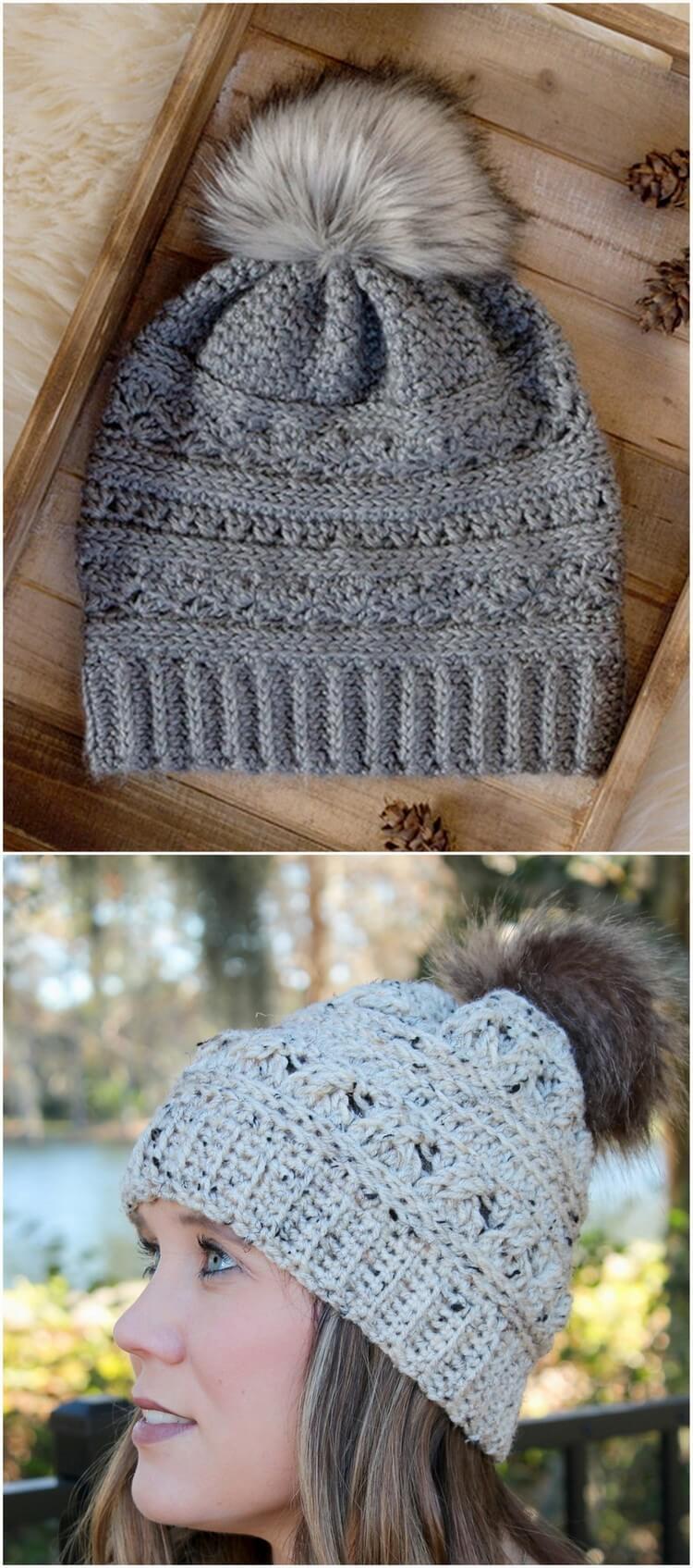 Crochet Hat Pattern (35)