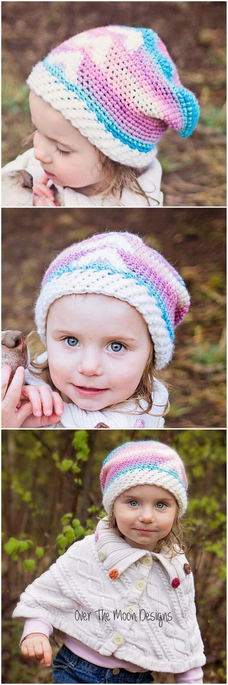 Crochet Hat Pattern (53)
