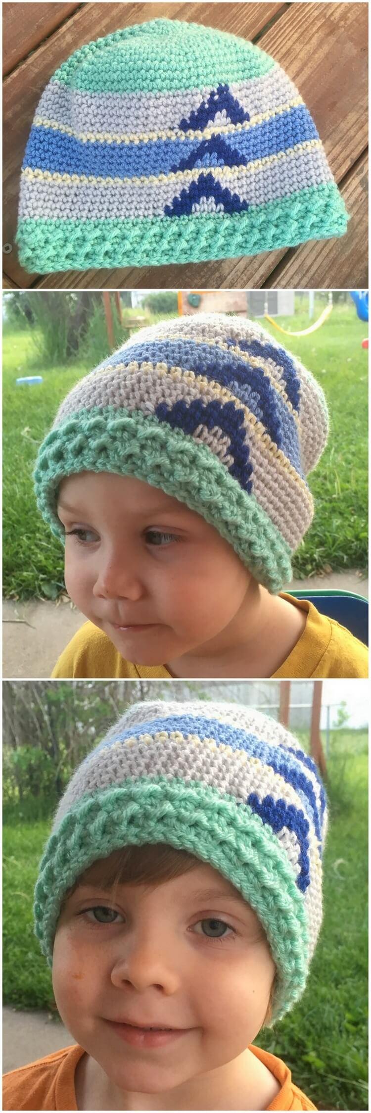 Crochet Hat Pattern (54)