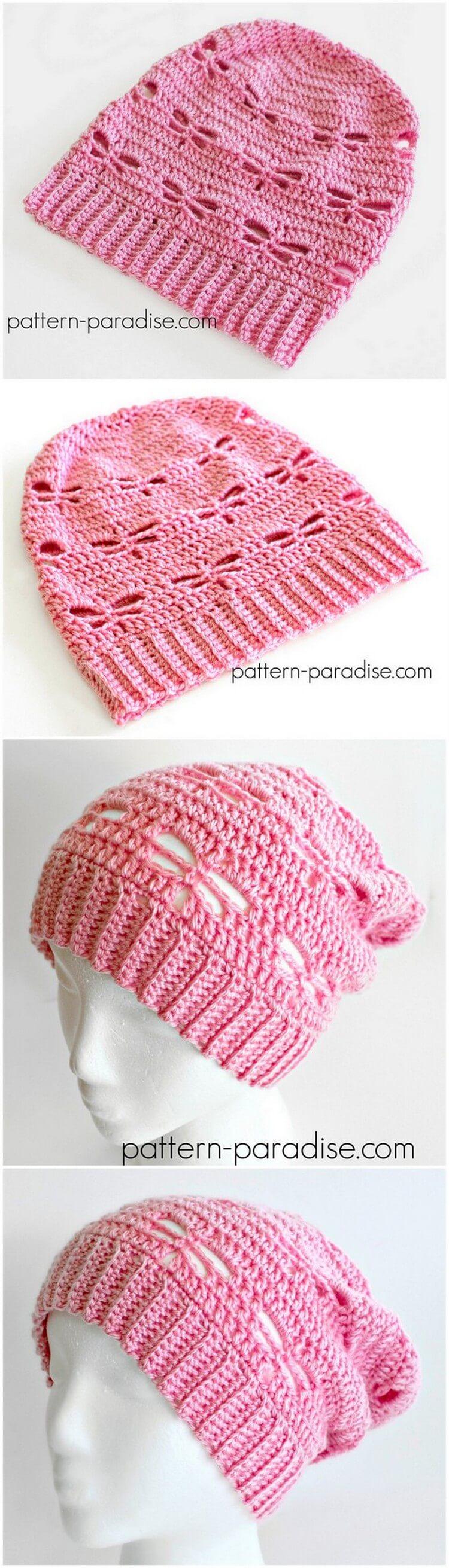 Crochet Hat Pattern (59)