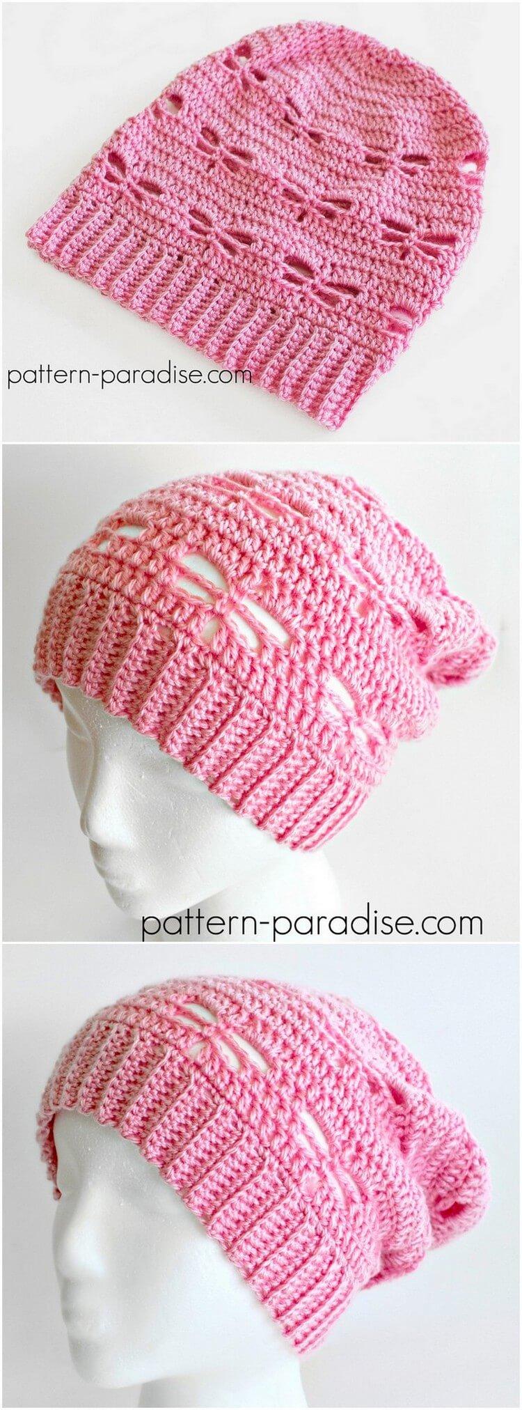 Crochet Hat Pattern (60)