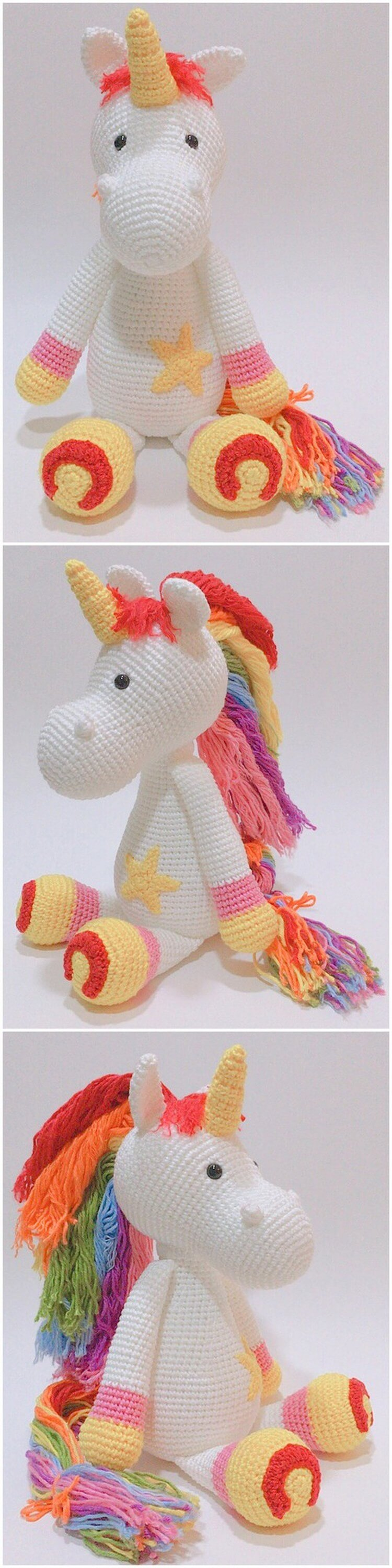 Crochet Unicorn Pattern (70)
