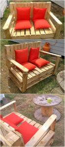 Majestic DIY Wood Shipping Pallet Reusing Projects