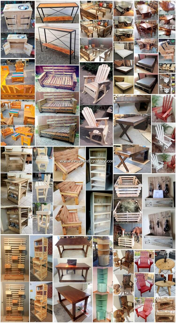 30 Fresh and Easy to Make Pallet Wood DIY Projects