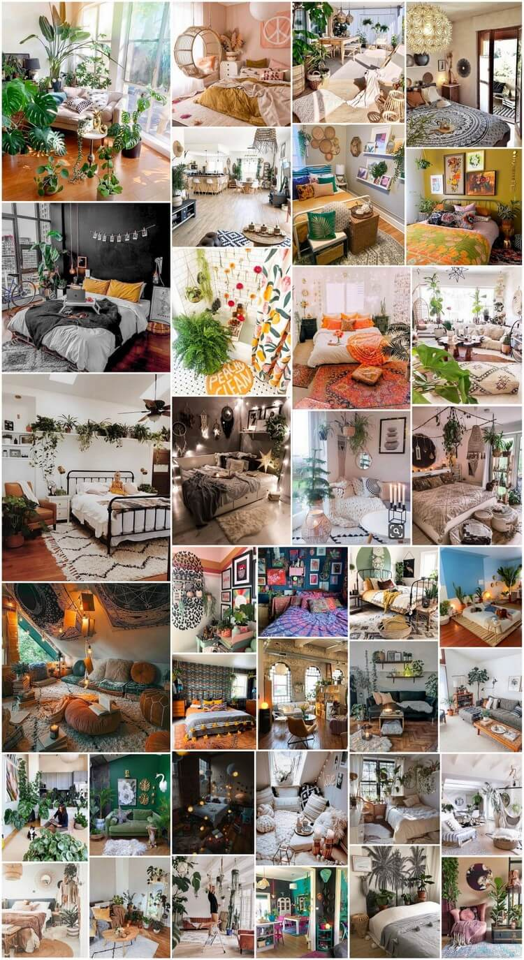 35+ Bohemian Interior Design Ideas for Your Home Beauty