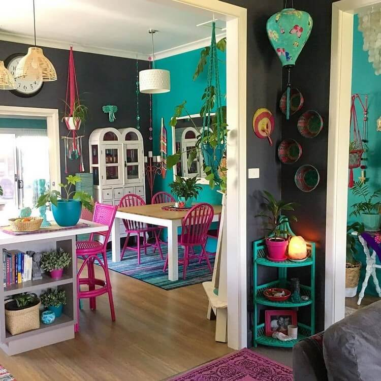 Bohemian Interior Design (4)