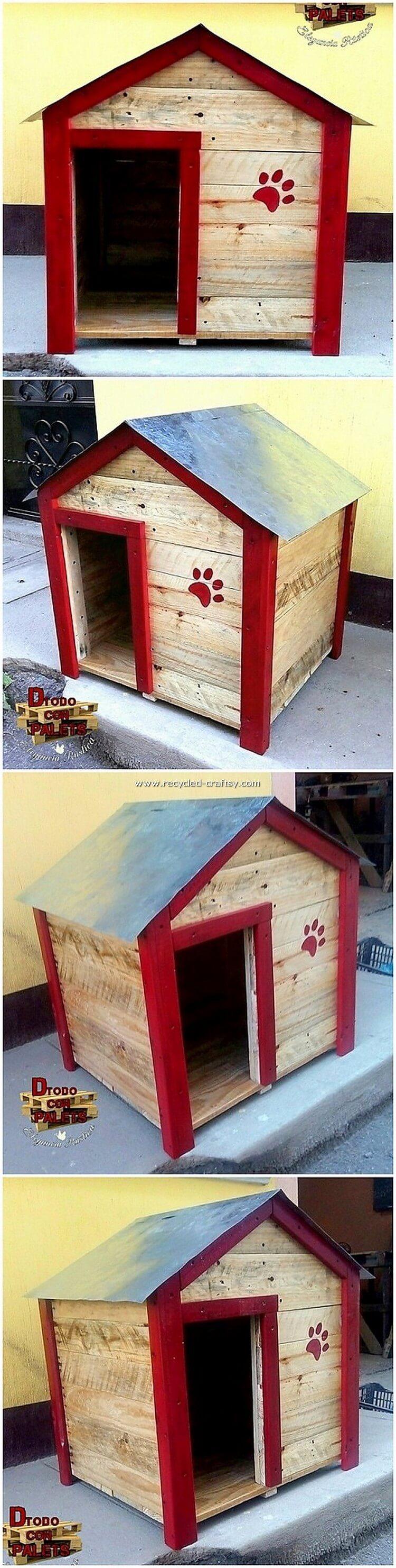 Pallet Wood Pet House