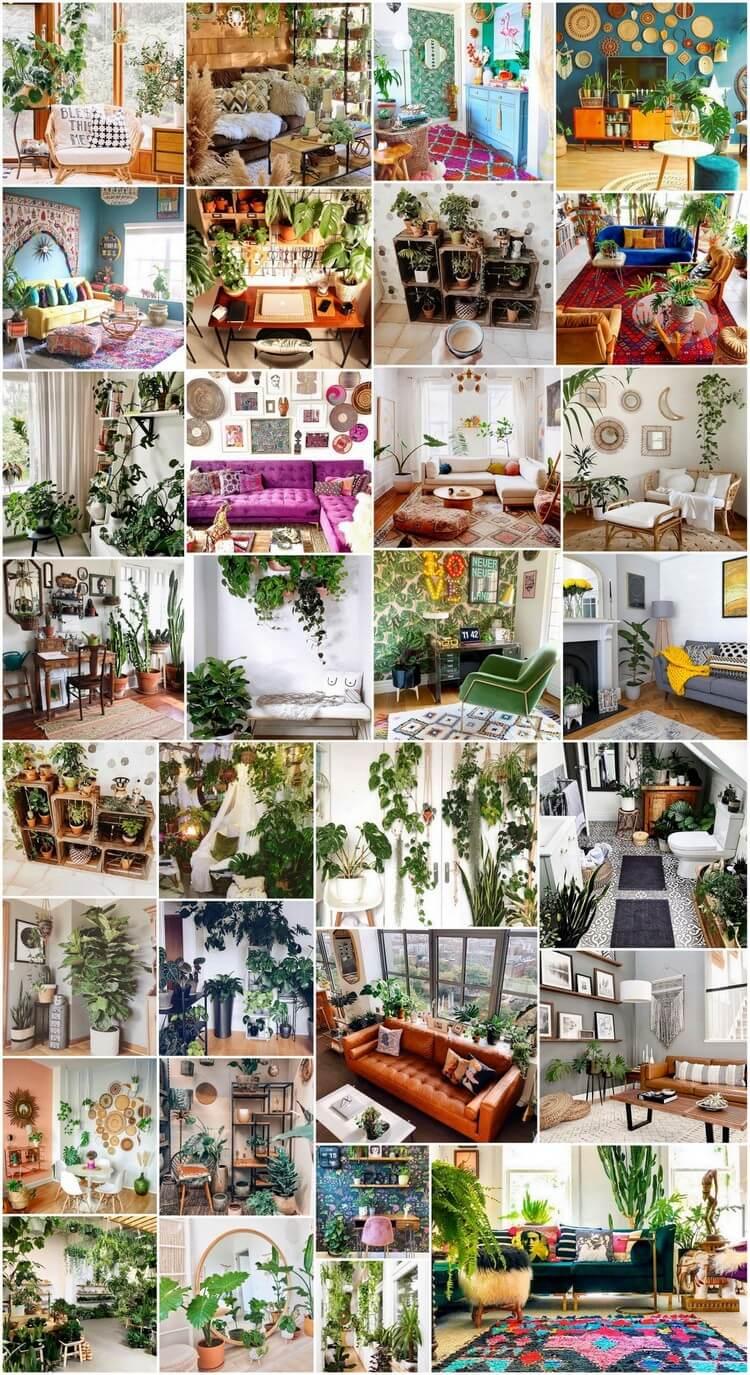30+ Pretty Bohemian Home Interior Decor Ideas