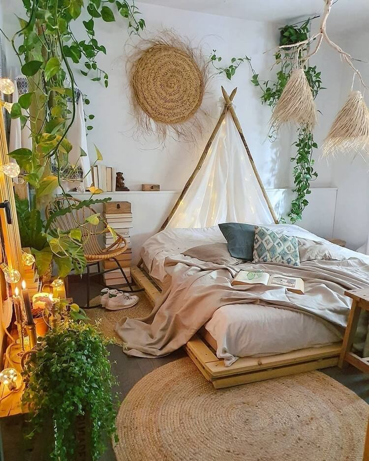Bohemian Bedroom Decor (11)