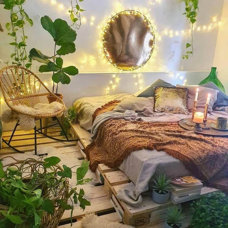 Bohemian Bedroom Decor (15)