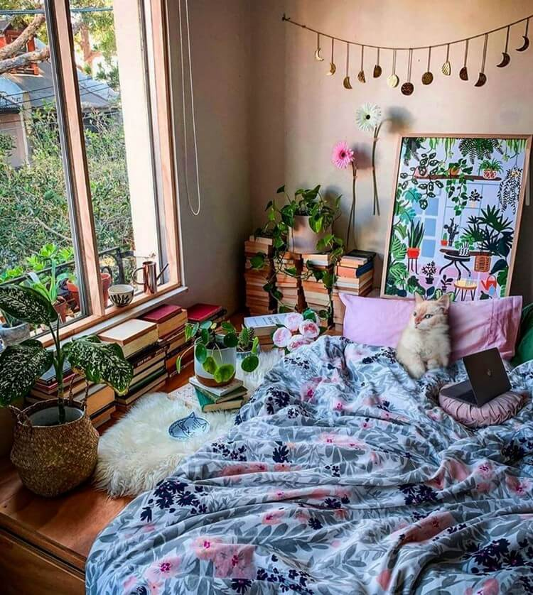 Bohemian Bedroom Decor (16)