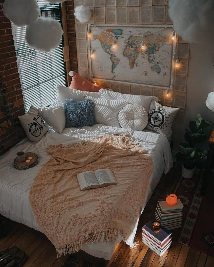 Bohemian Bedroom Decor (2)
