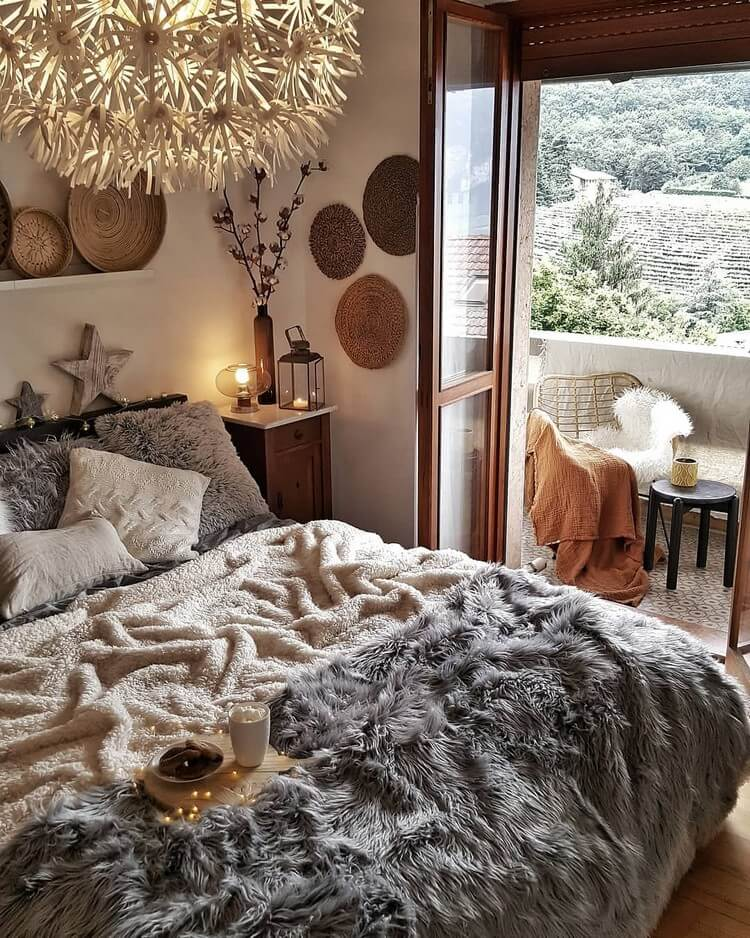 Bohemian Bedroom Decor (22)