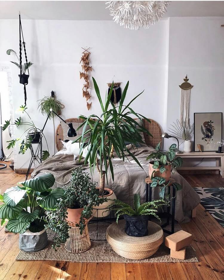 Bohemian Bedroom Decor (23)