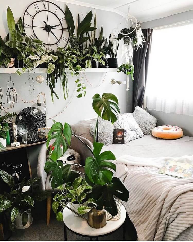 Bohemian Bedroom Decor (24)