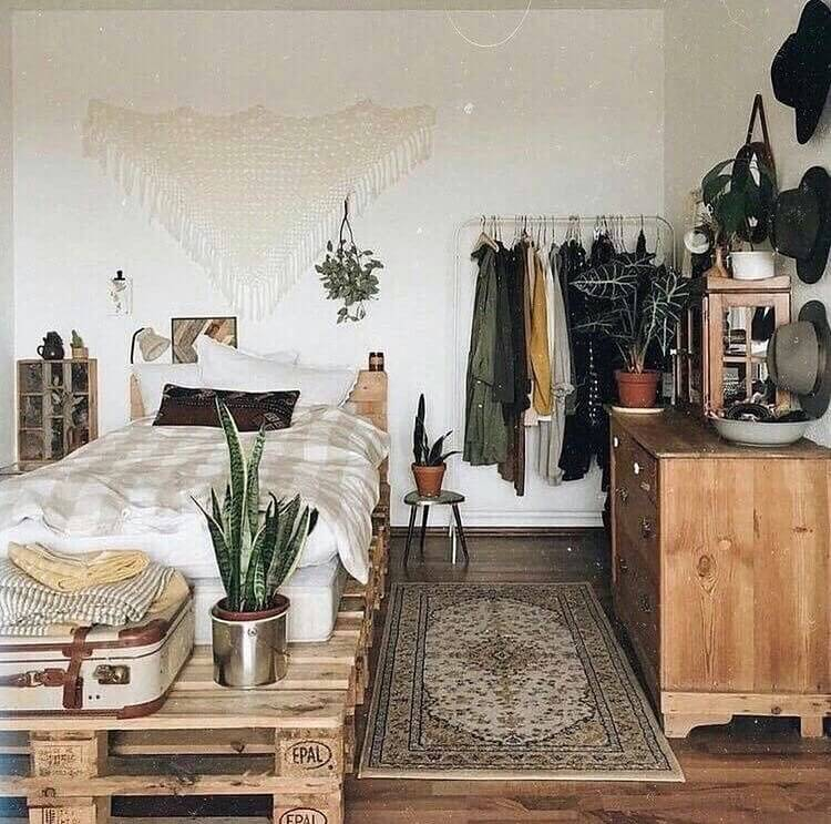 Bohemian Bedroom Decor (34)