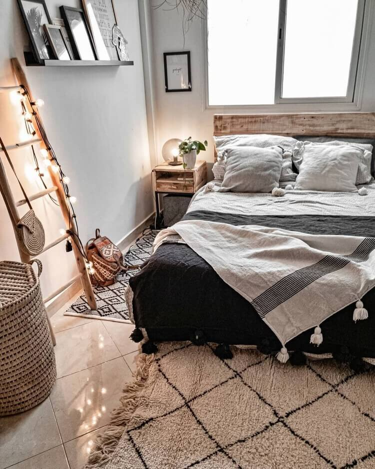 Bohemian Bedroom Decor (9)