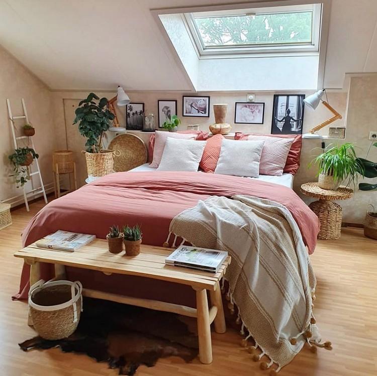 Bohemian Bedroom Decorating (17)