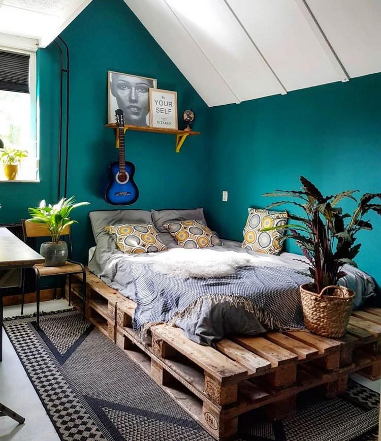 Bohemian Bedroom Decorating (28)