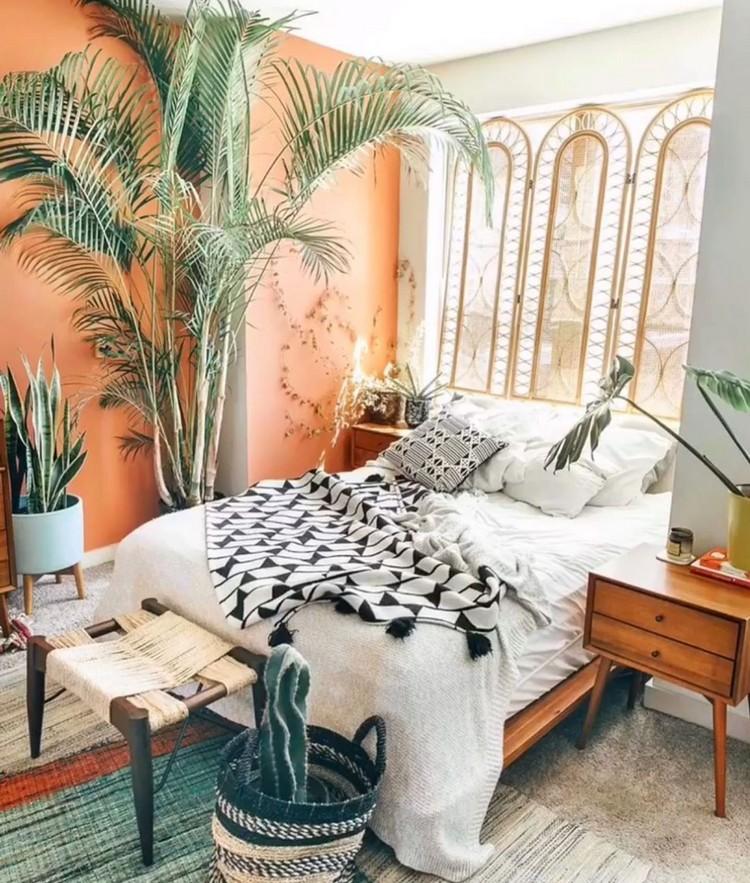 Bohemian Bedroom Decorating (6)