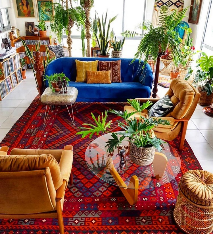 Bohemian Home Interior Decor (28)