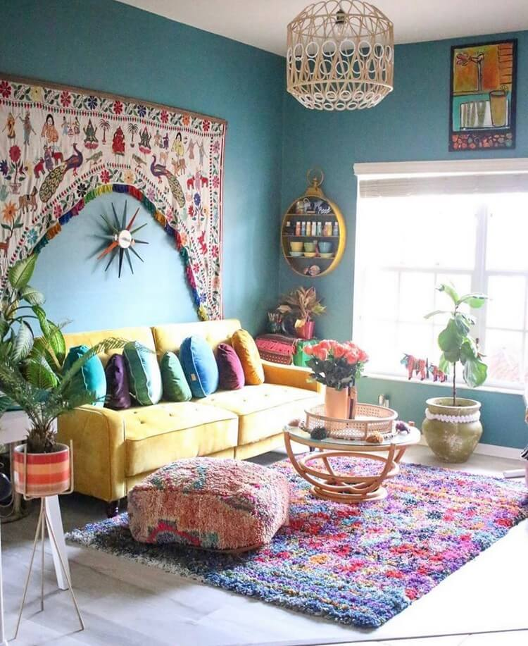 Bohemian Home Interior Decor (7)