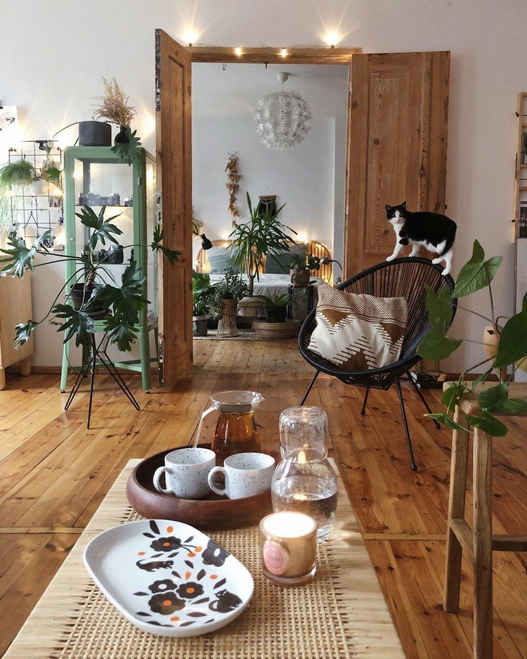 Bohemian Home Interior Design (10)