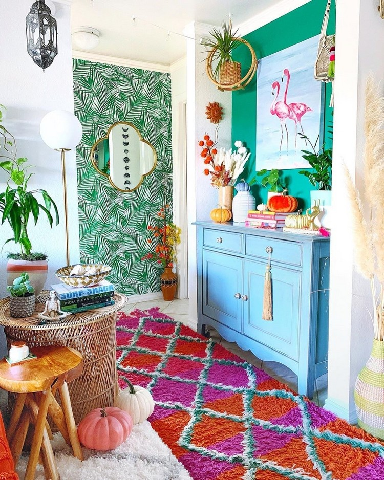 Bohemian Home Interior Design (13)