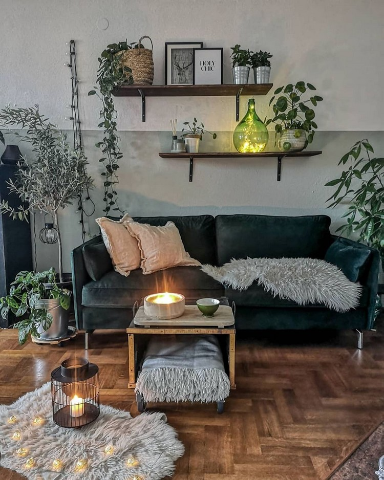 Bohemian Home Interior Design (14)