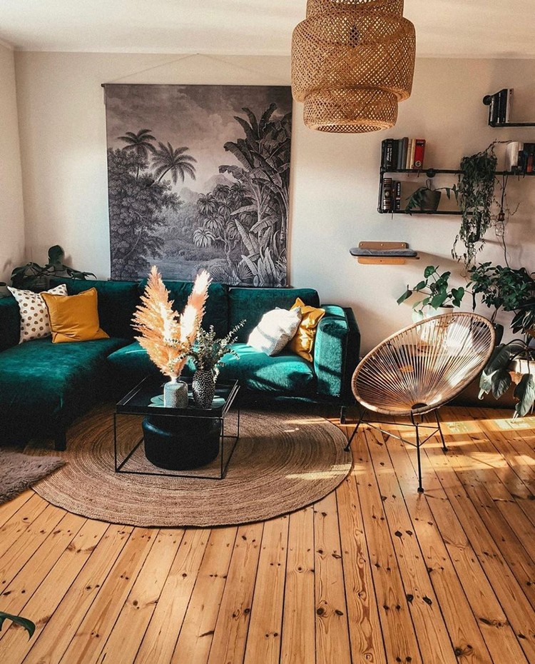 Bohemian Home Interior Design (19)