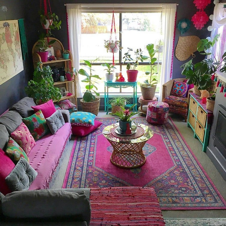 Bohemian Home Interior Design (7)