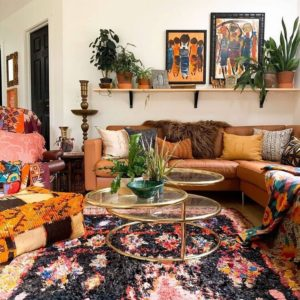 35+ Bohemian Style Interior Design Decor Ideas