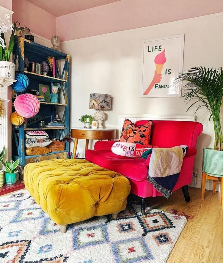 Bohemian Interior Design (16)