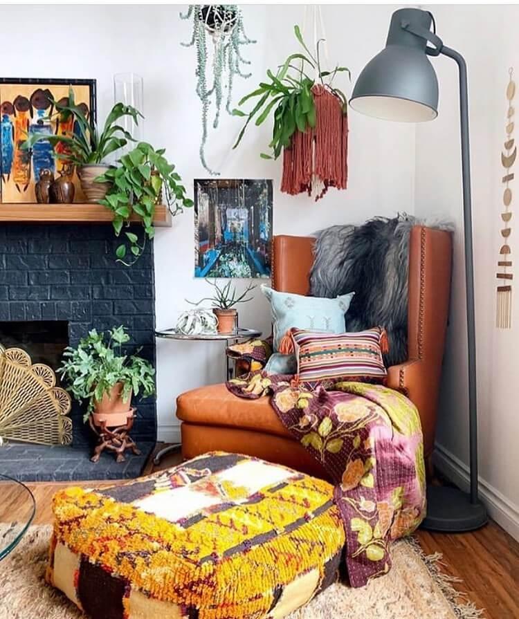 Bohemian Interior Design (24)