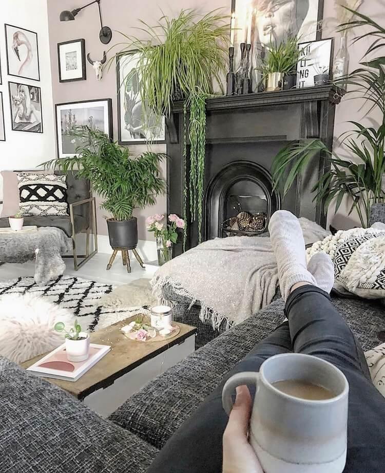 Bohemian Interior Design (44)