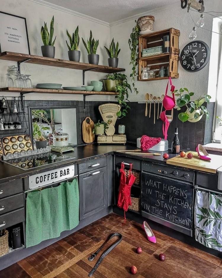 Bohemian Kitchen Decor (1)