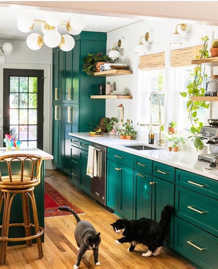 Bohemian Kitchen Decor (11)