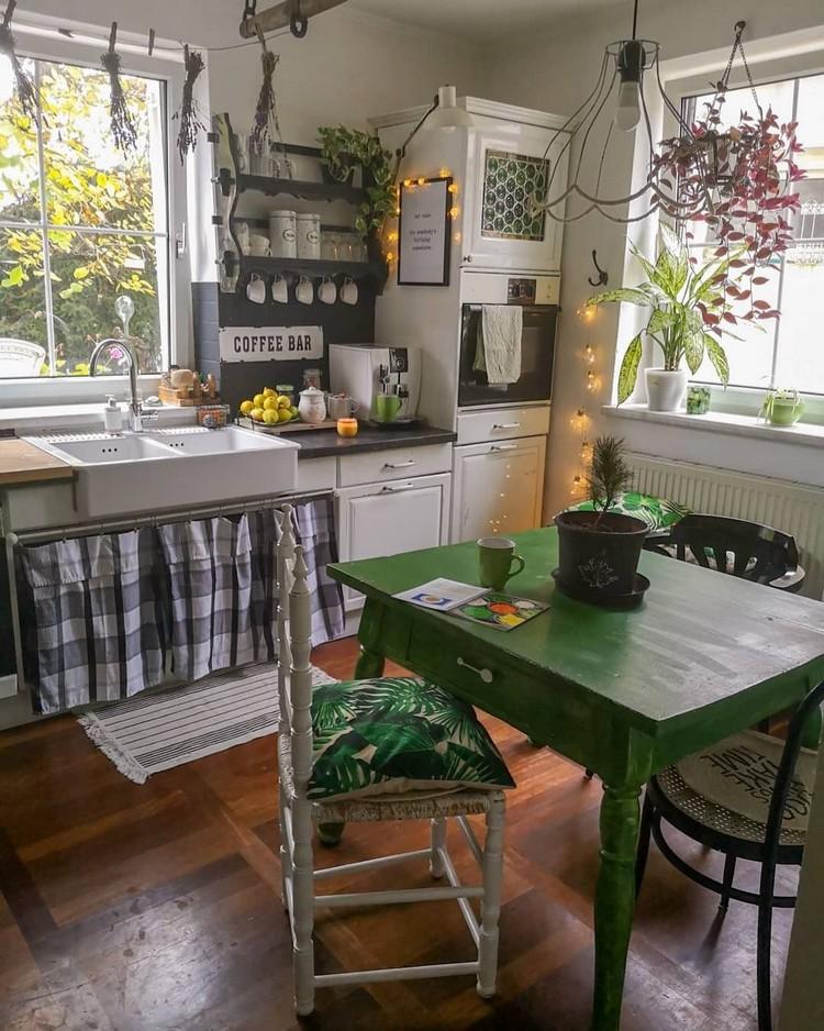 Bohemian Kitchen Decor (12)